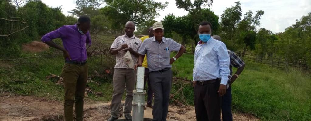 Borehole construction within the District